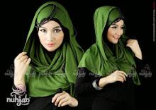 Jilbab Instan Nuhijab Plain Shawl – Hijau Pandan