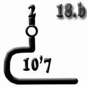 Ejemplo 18.b: Cañón (x2) de 10,7