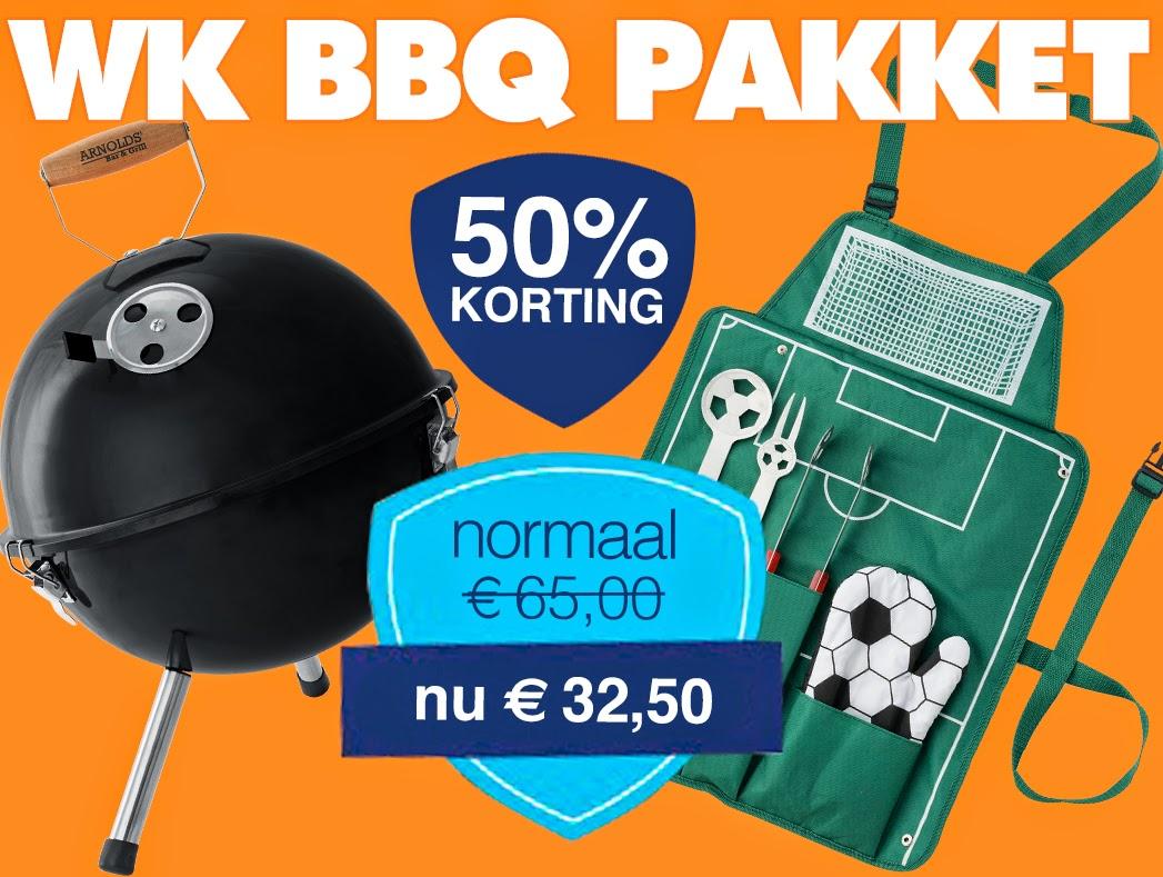 WK BBQ pakket