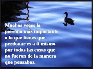 Imagen Muchas Veces La Persona Más Importante A La Que Tienes Que Perdonar (Imagenes para Facebook)