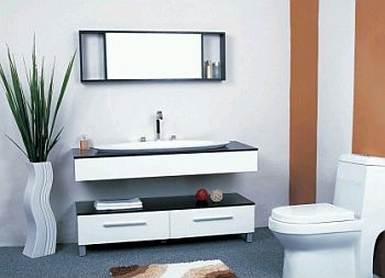 Decoraci n de ba os muebles accesorios for Accesorios para muebles de bano