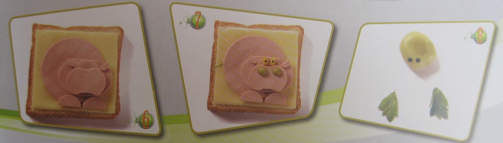 Sandwich Hipopotamo, Comida con Arte