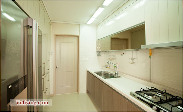 Kitchen room in Imperia apartment 95 sqm