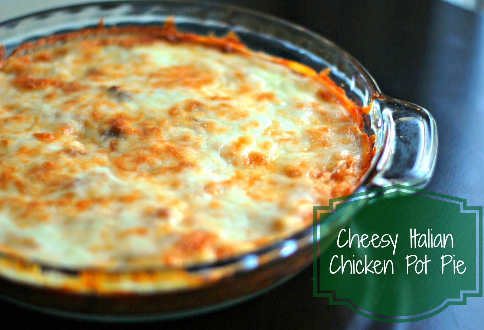 Cheesy Italian Chicken Pot Pie | Aunt Bee's Recipes