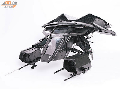 "Hot Toys 2013 Preview - 1/12 Scale ""The Bat"" Dark Knight Rises vehicle"