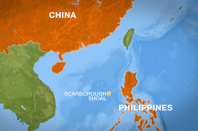 We speak the truth the philippine china tension a contention china claims that the ownership of the scarborough shoal one of the major the territories being fought over belongs to them the philippines rebutted gumiabroncs Image collections