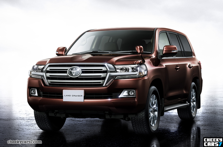 New Toyota Land Cruiser 200 V8 2016 pictures, video and price / Images