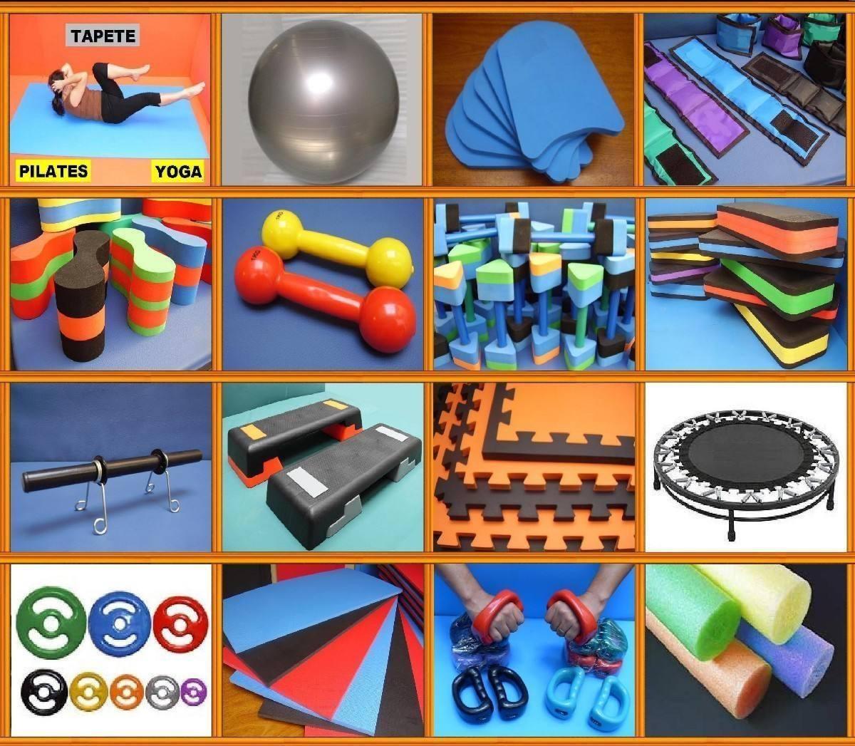 Tatames em EVA e materiais esportivos