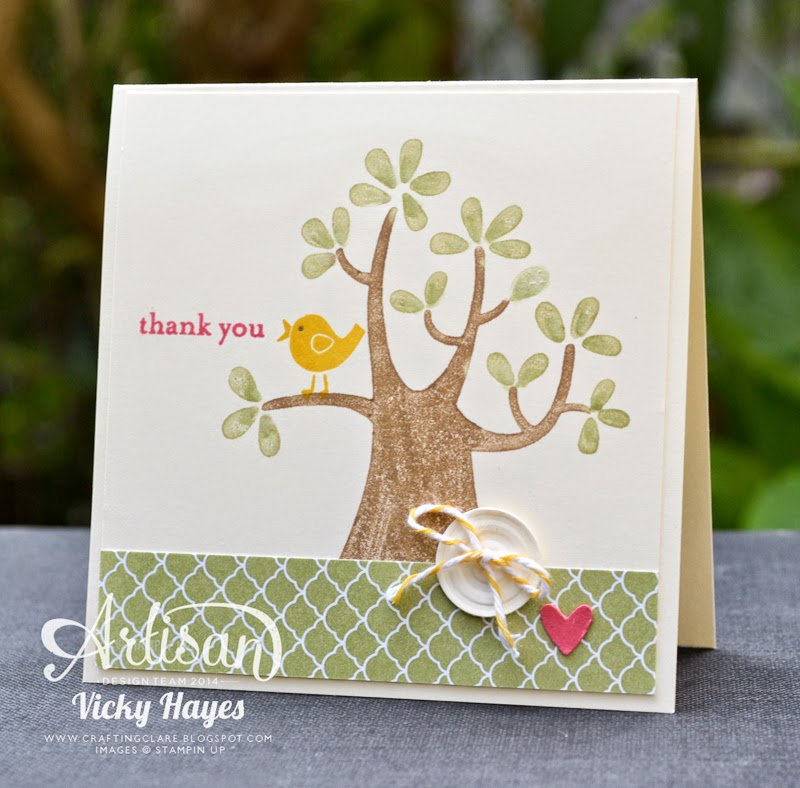 Free Stampin' Up stamp set Nuts about You