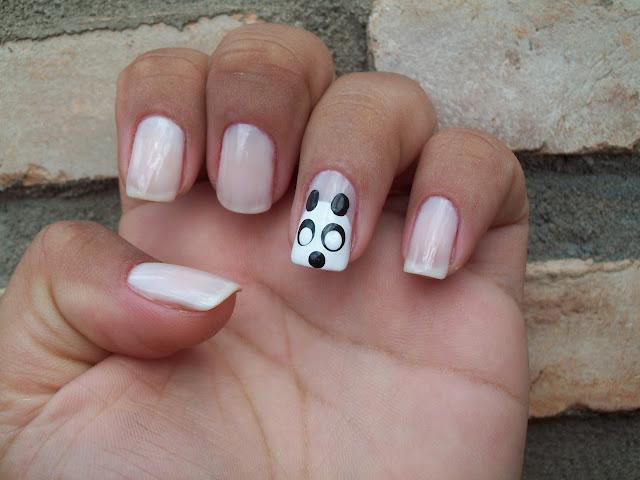 Unha Decorada - Panda