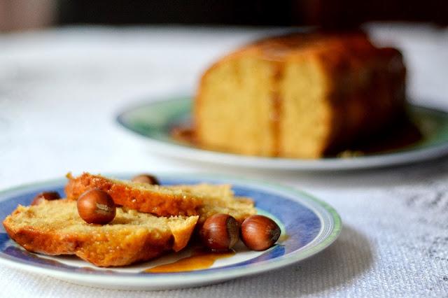 kawowy chlebek w karmelu