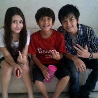 Foto Coboy Junior di Lokasi Syuting