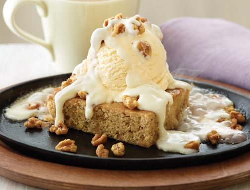 ... 'sWalnut Blondie with Maple Butter sauce (or a very good copy