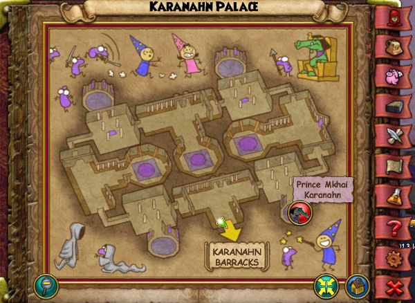 Wizard101 Secret Krokotopia Room