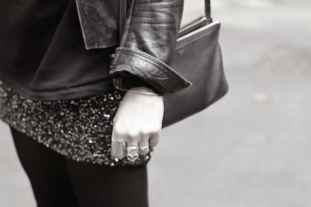 mango, jupe sequins, cos, pull and bear, celine, triobag, juste juliette, blog mode lille, fashion blogger