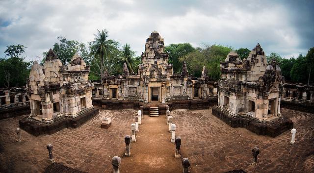 Brahmin Hiranyadama of Cambodia of 780 AD - Sdok-Kok-Thom