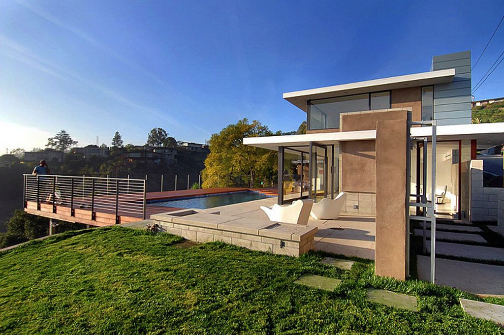 California Mid Century Modern House Design