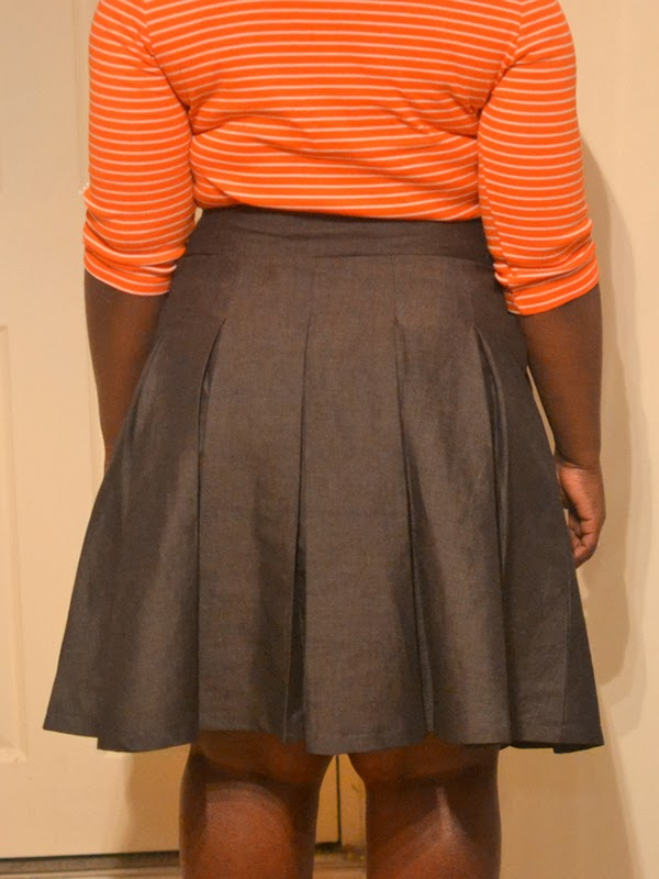 Stepalica Patterns: Zlata skirt - pattern testing, MissDibs
