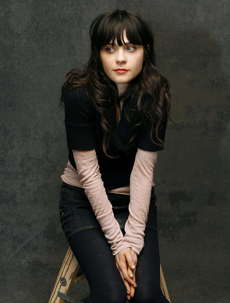 Fresh Look Celebrity Zooey Deschanel Hairstyles 13