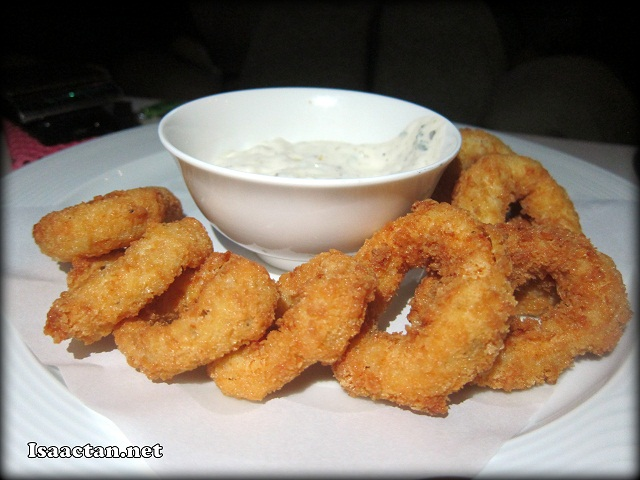 #3 Calamari Rings for you and for me