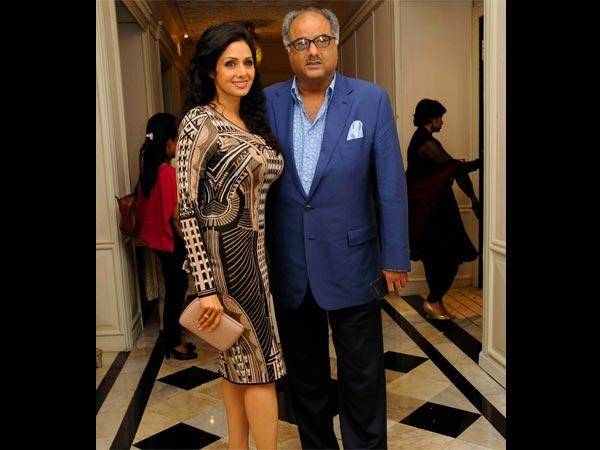 Sridevi with Boney Kapoor Photo
