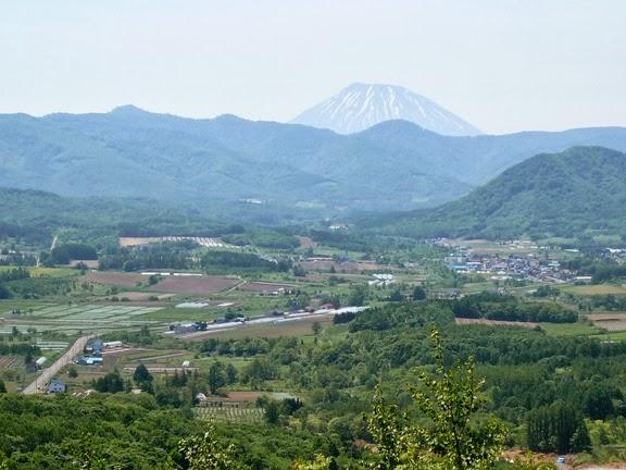 風のV7: 赤井川村のすてきな農園。