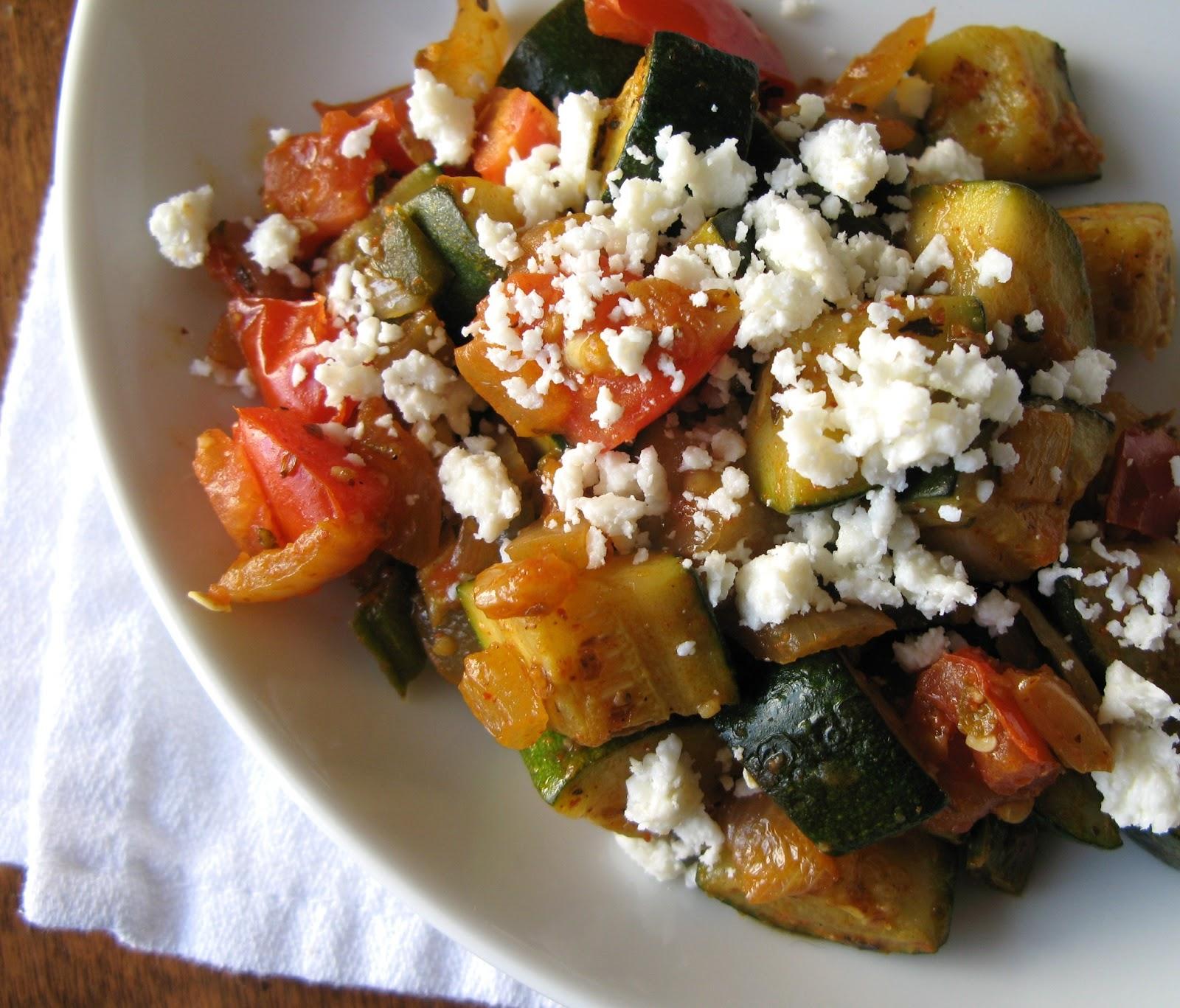 The Bake-Off Flunkie: Zucchini with Jalapeno, Tomato ...