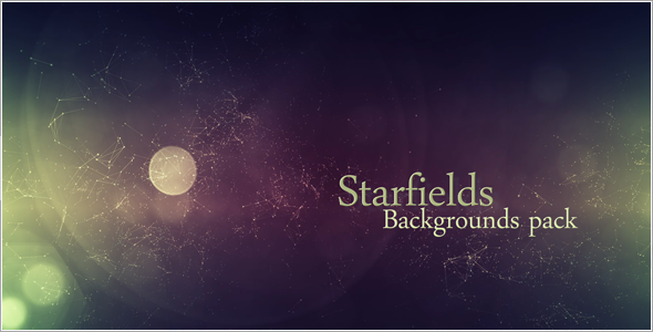 VideoHive Starfields Backgrounds Pack