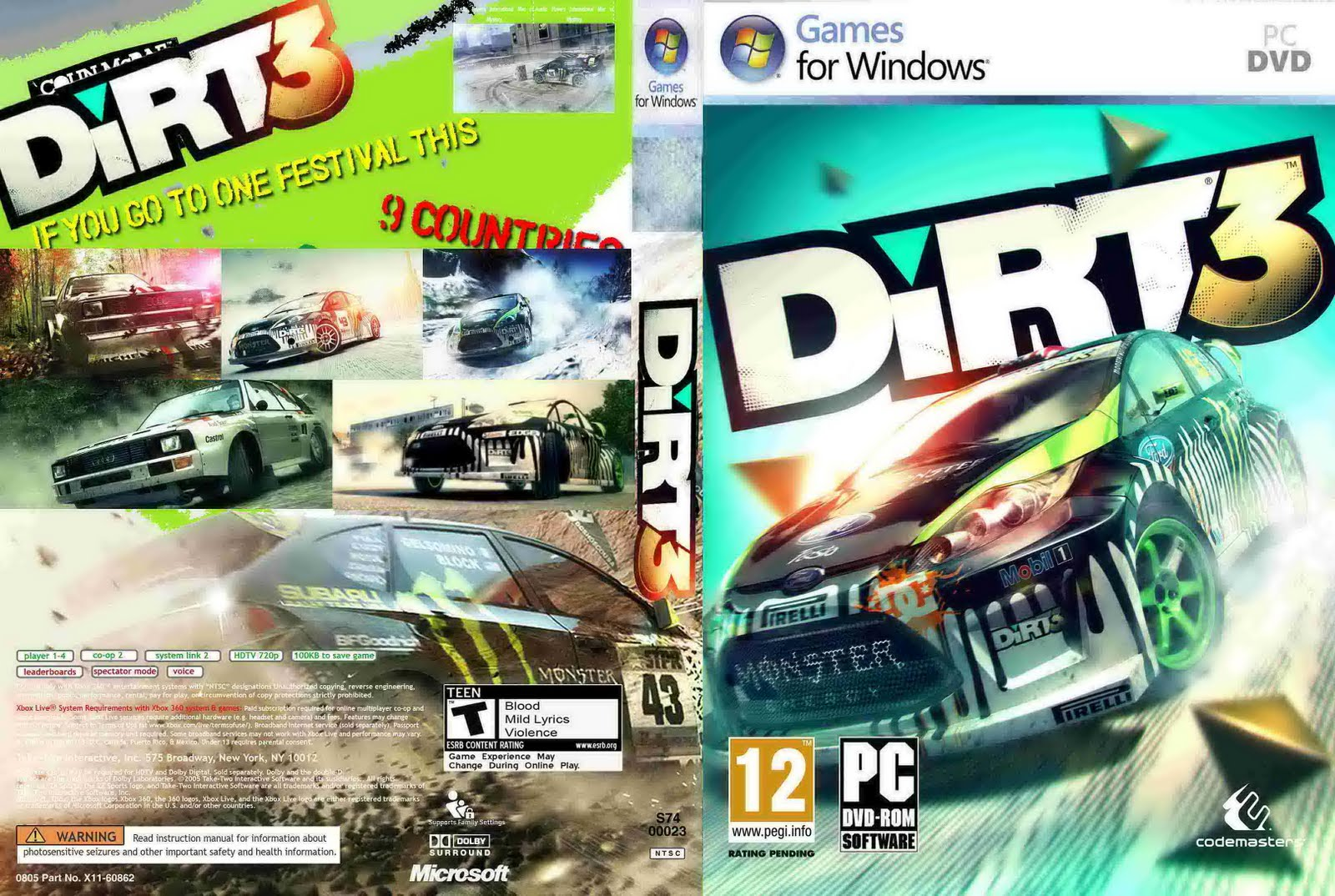 Crack Dirt Rally Skidrow