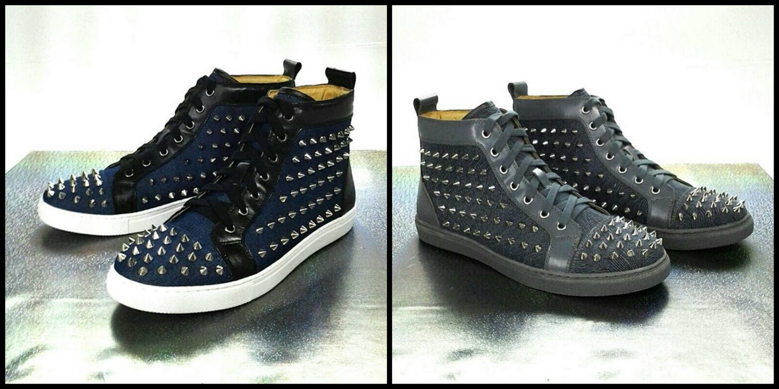 gibi shoes spikes boots for pages flipper