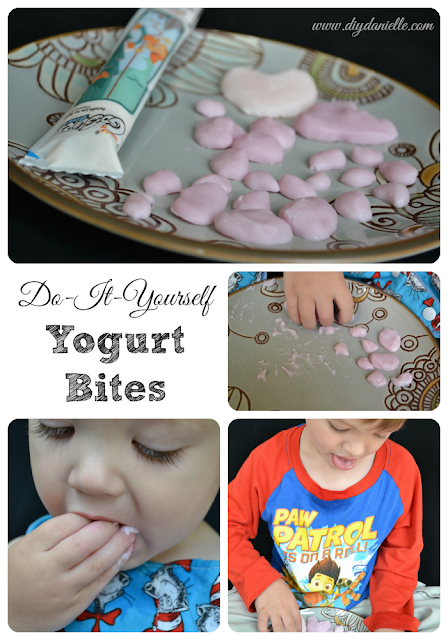 How to Make Yogurt Bites as a Baby Finger Food