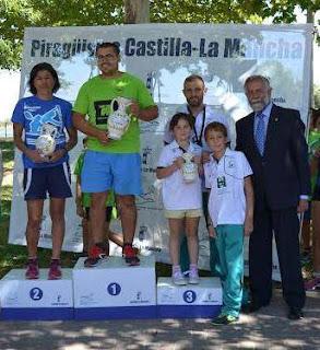 Piragüismo Aranjuez en Talavera