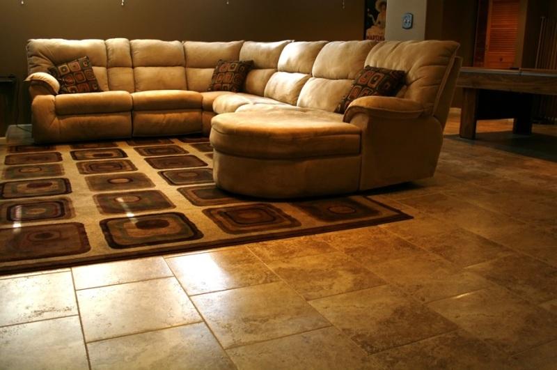 Modern Interior Design Porcelain Basement Floor Tiles
