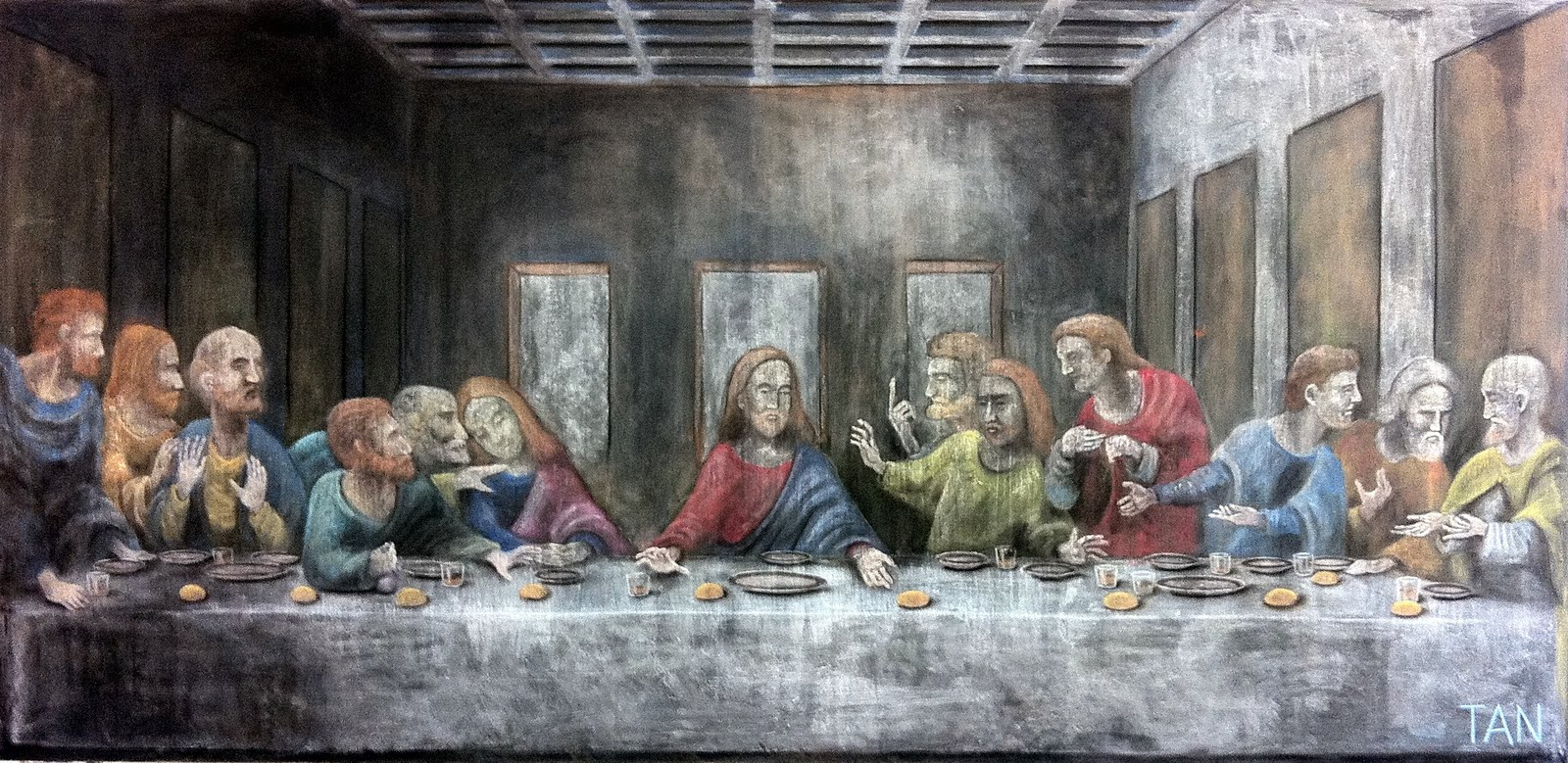 last supper Directed by stacy title with cameron diaz, ron eldard, annabeth gish,  jonathan penner a group of idealistic, but frustrated, liberals succumb to the.