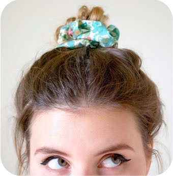 Liberty Print Srunchie DIY Tutorial