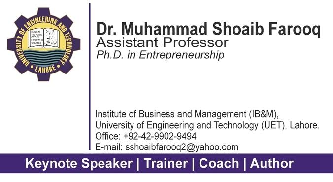 Dr muhammad shoaib farooq strategic management here take my business card colourmoves