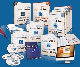 Produtos da Fórmula Negócio Online!