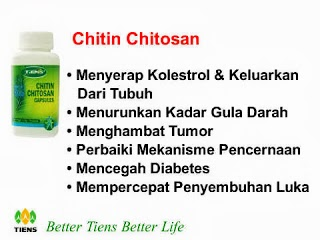 CHITIN CHITOSAN CAPSULES (PEMBERSIH)