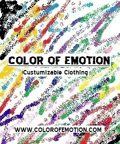 """paint your life with the colors of your emotions"""
