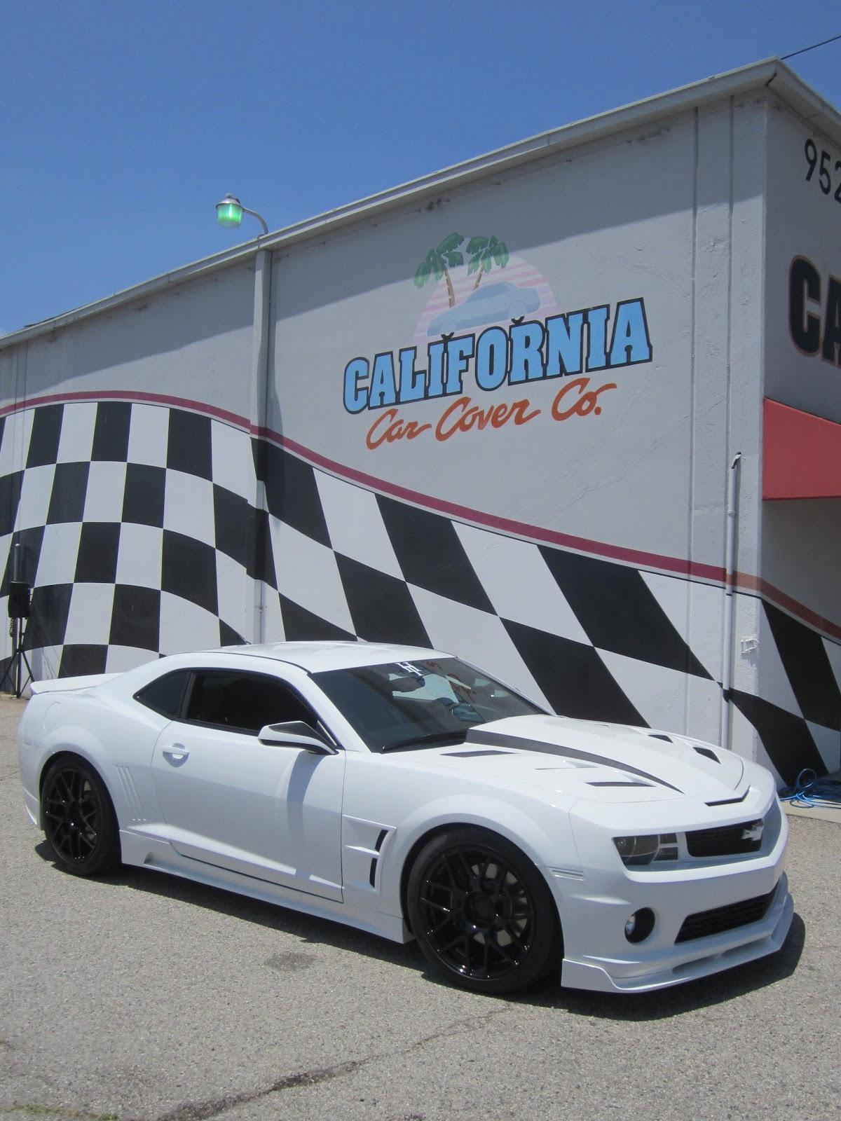 Covering Classic Cars California Car Cover Camaro Show 2012