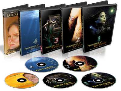 PhotoShop TopSecret Collection DVD Set by www.maxginez3.com