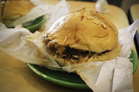 Gourmet Palate's Charbroiled Burger - Mushroom Melt