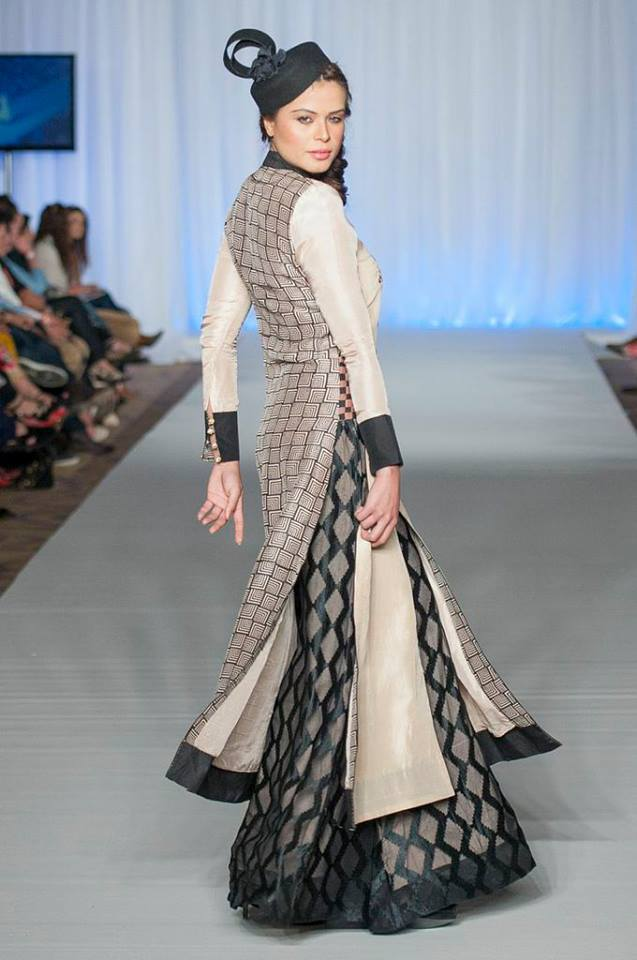 Gul Ahmed Reached in London New G-Pret Collection at London Fashion Week 2013 -