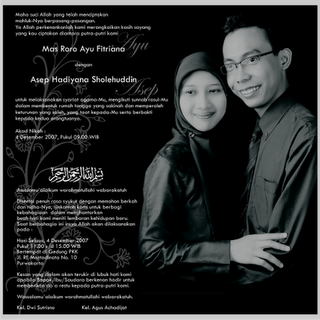 wedding card produk digital printing