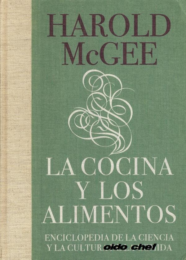 Harold mcgee libros de cocina for Libro procesos de cocina