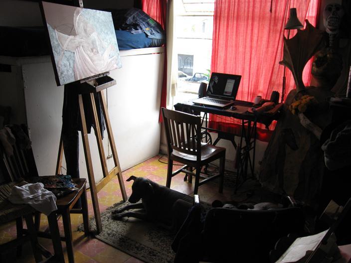 En mi estudio