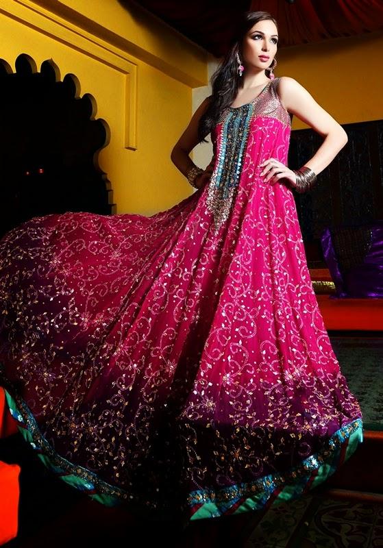 Pakistani Chic Eid Dresses Designs-14