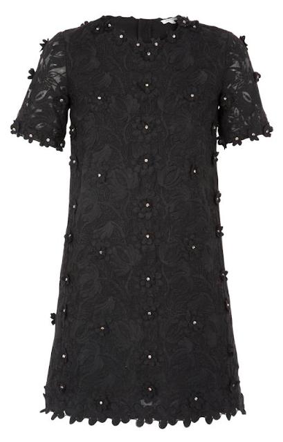 Rebajas SS 2015 fondo de armario vestido negro manga tres cuartos