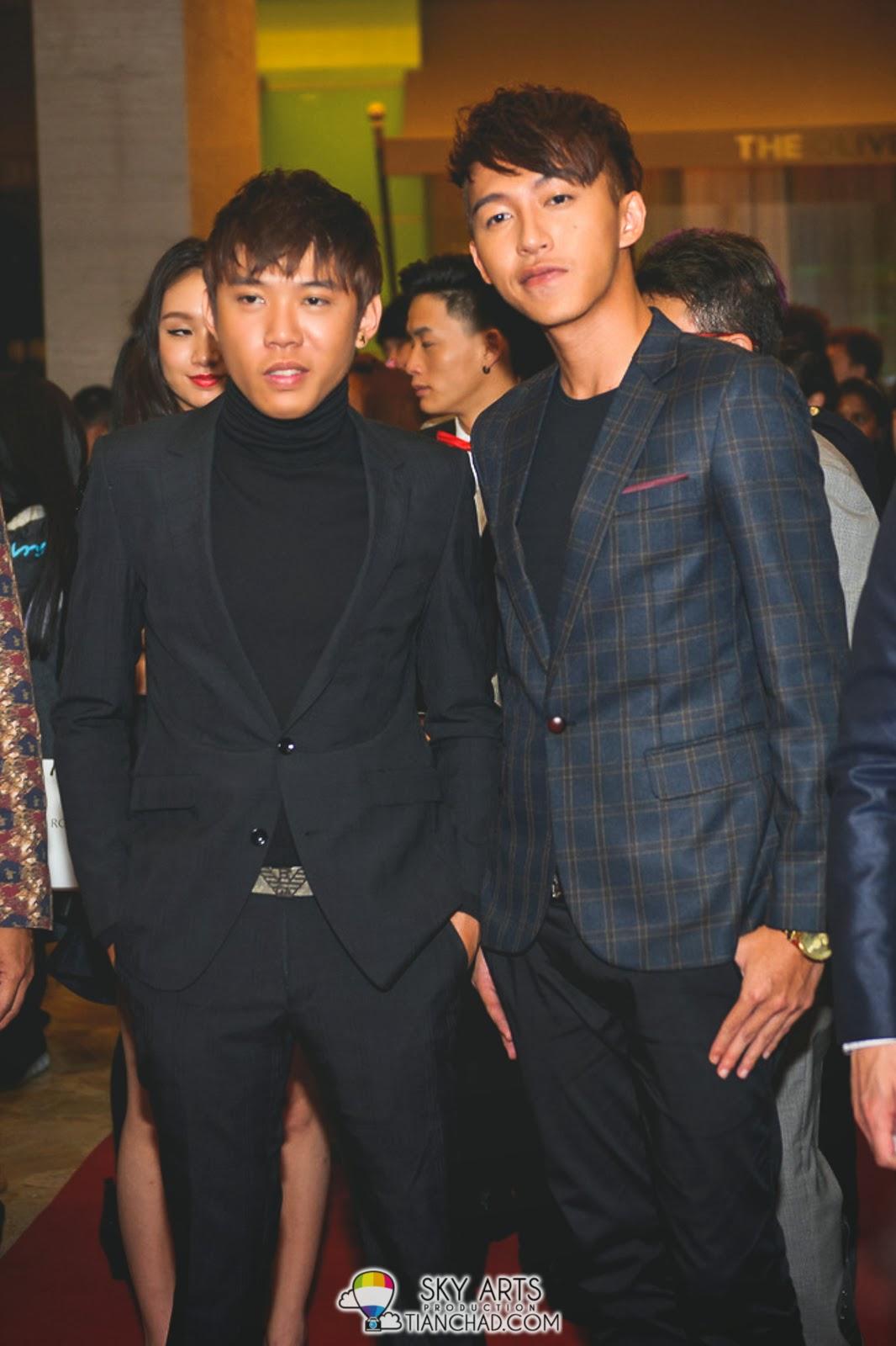 Wang Wei Liang 王伟良 and Tosh Zhang 张智扬