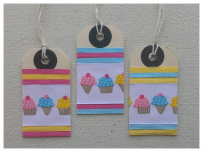 Miss Chaela Boo: Crafty Creatives Box 12 - cupcake gift tags